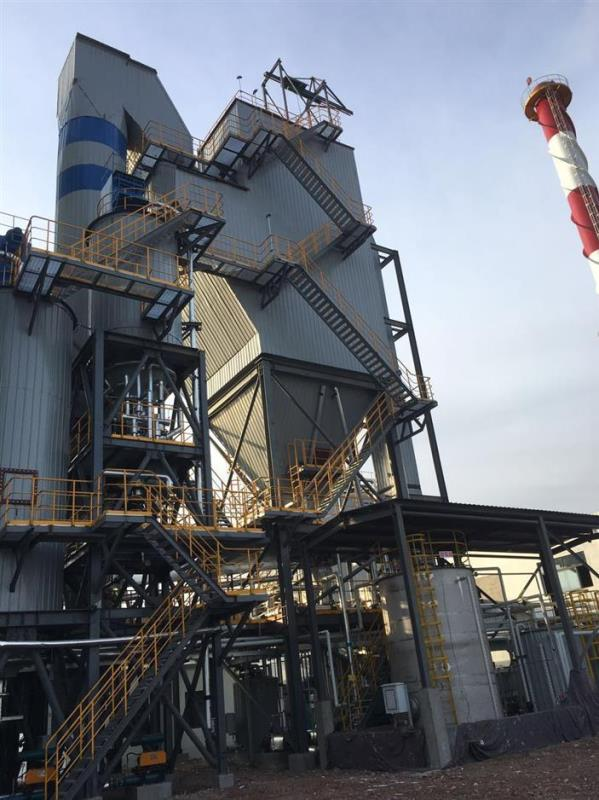 青岛顺安水煤浆锅炉超低排放项目